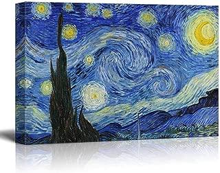 Best van gogh starry night print canvas Reviews