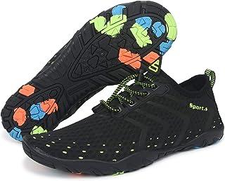 Zapatos de Agua Hombre Mujer Zapatillas Ligeros de Secado Rápido para Swim Beach Surf Yoga