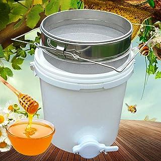 Generic 20 Liter Honig Bucket Filter Honigschleuder Imkerei Honigeimer mit Edelstahl Sifter