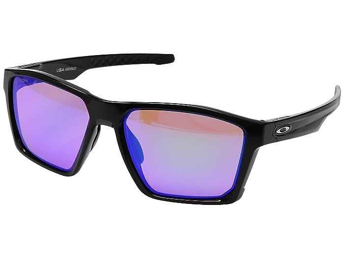 Oakley Targetline (Polished Black w/ Prizm Golf) Athletic Performance Sport Sunglasses