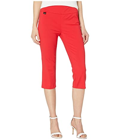 Lisette L Montreal Kathryne Fabric Capris (Chinese Red) Women