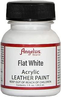 Angelus Leather Paint 1 Oz Flat White