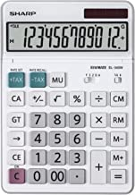 $38 » Sharp SH-EL340W Desktop Calculator White