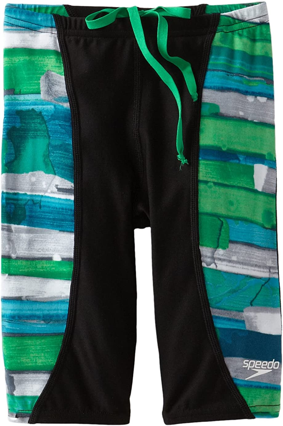Speedo Big Boys' Purchase Max 72% OFF Youth Jammer Swimsuit Stroke Color
