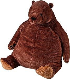 Giant Teddy Bear Dark Brown Plush Toy Big Teddy Bear Stuffed Animal Doll Valentine's Home Decor Birthday Gift for Girl,Boy,Girlfriend (39.37IN)