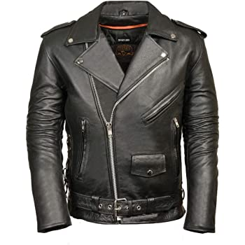 Black, Small Leather King Kids Vest with Side Laces