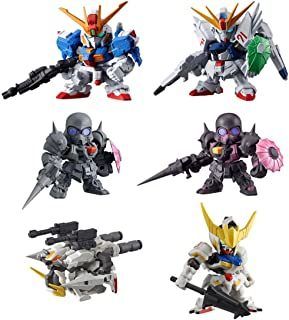 Gashapon Mobile Suit Gundam Gashapon Warrior Dash 06 Set
