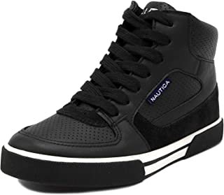 Nautica Kids Horizon Sneaker-Lace Up Fashion Shoe-Boot Like High Top (Niño pequeño / Niño grande)