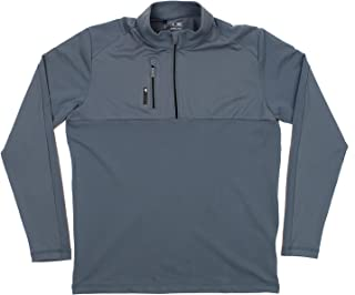 adidas Men's Performance 1/2 Zip Pullover Climalite Sweater, Color Variation