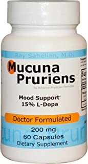 Advance Physician Formulas Mucuna Pruriens 200 mg 60 Capsules