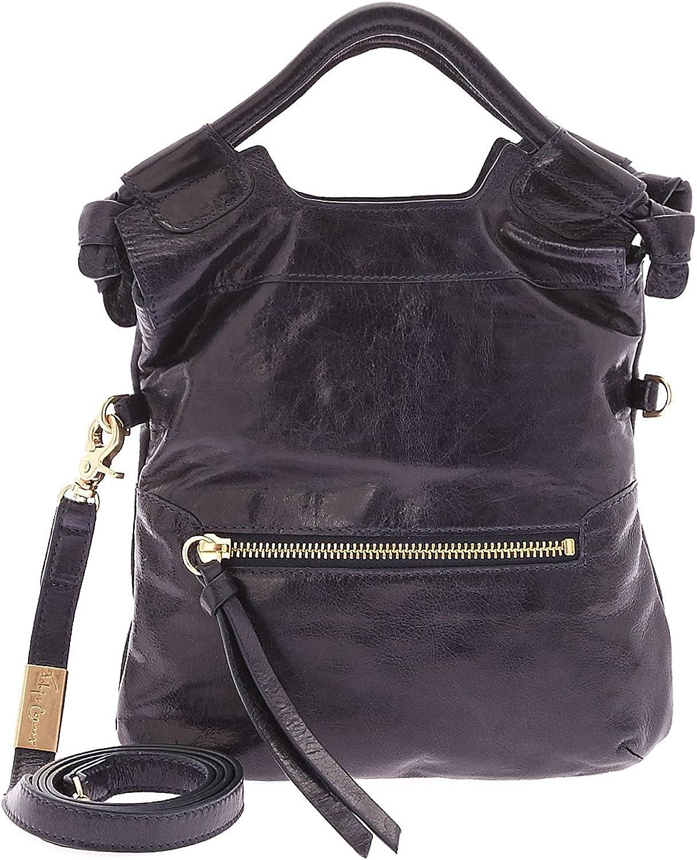 Foley + Corinna New Cross Body Bag Disco City Tote Leather bluee
