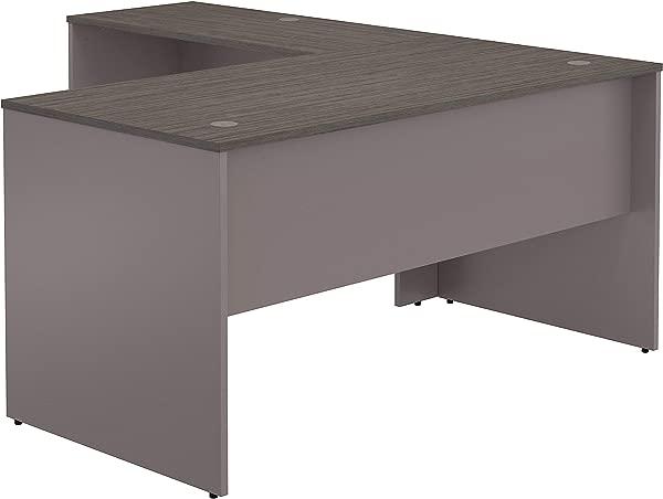 灌木家具商业 60W L 形桌子在可可和锡