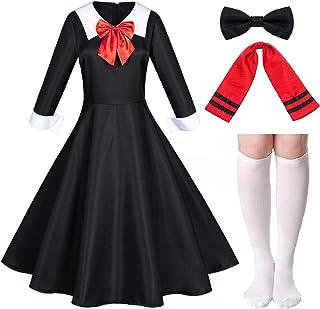 Classic Japanese Anime Kawaii Sailor Dress School Uniform Cosplay Costumes with Socks Set