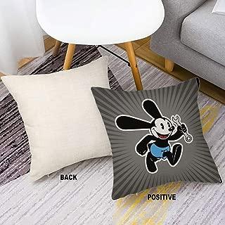 DISNEY COLLECTION Decorative Throw Pillow Decorative Throw Pillow Lucky Rabbit Oswald Walt Disney Disney 16 X 16 Inch