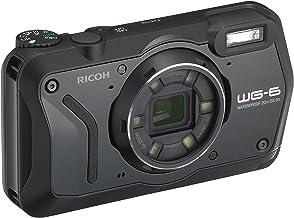 RICOH WG-6 ブラック 本格防水カメラ 20メートル防水 耐衝撃 防塵 耐寒 高画質2000万画素 4K動画対応 高性能GPS内蔵 水中専用マーメードモード搭載 高性能GPS・電子コンパス内蔵 仕事に使える「CALSモード」搭載