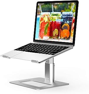 Adjustable Laptop Stand, Boyata Aluminum Laptop Riser for Desk, Ergonomic Laptop Holder Compatible with MacBook Air Pro De...