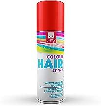 Bombe couleur rouge pour cheveux