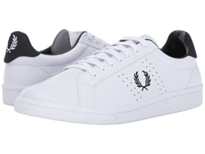 Fred Perry B721 Leather (White) Men