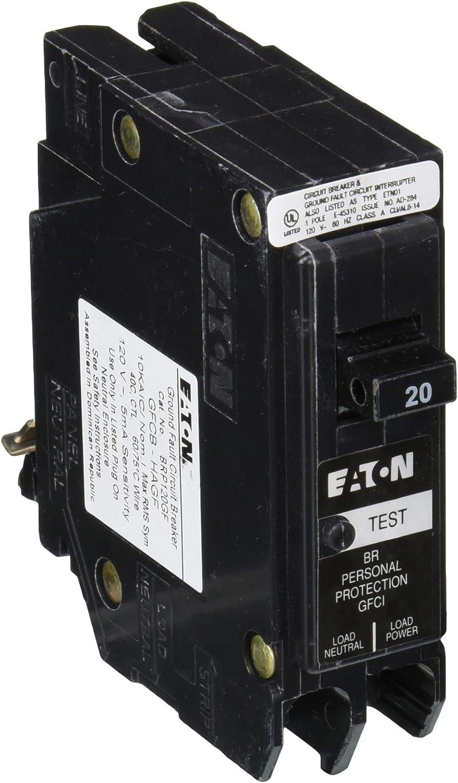 Popular standard EATON CORPORATION GFTCB120 Cutler-Hammer Type Sale price Ground Fault Gftcb