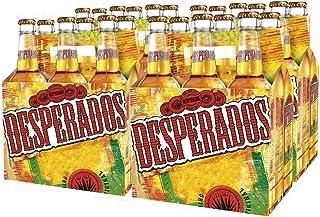 Desperados Cerveza - Caja de 24 Botellas x 330 ml - Total: 7