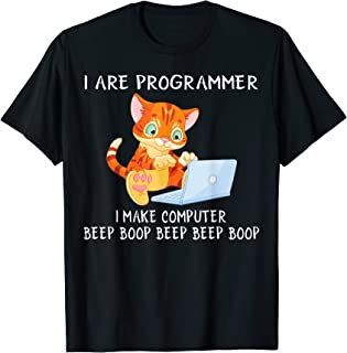 I Are Programmer I Make Computer Beep Boop Funny T Shirt
