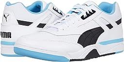 Puma White/Puma Black/Ethereal Blue