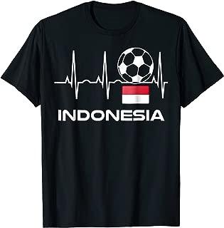 Indonesia Soccer Jersey T-Shirt Best Indonesian Football Tee