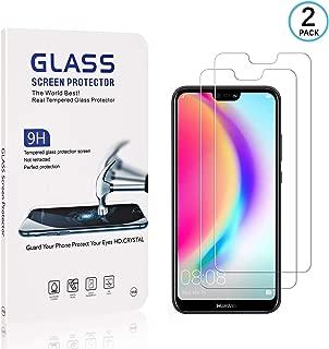 sans Traces de Doigts 0.26mm HD Protection en Verre Tremp/é /Écran pour Huawei P Smart 2019 Anti Rayures 1 Pi/èces Ramcox Verre Tremp/é Huawei P Smart 2019