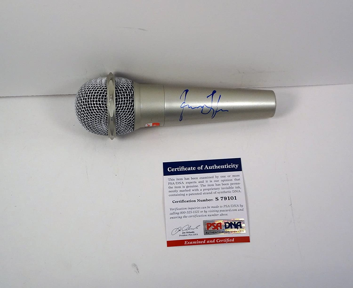 1 year warranty James Taylor Signed Autograph PSA Microphone DNA COA New popularity