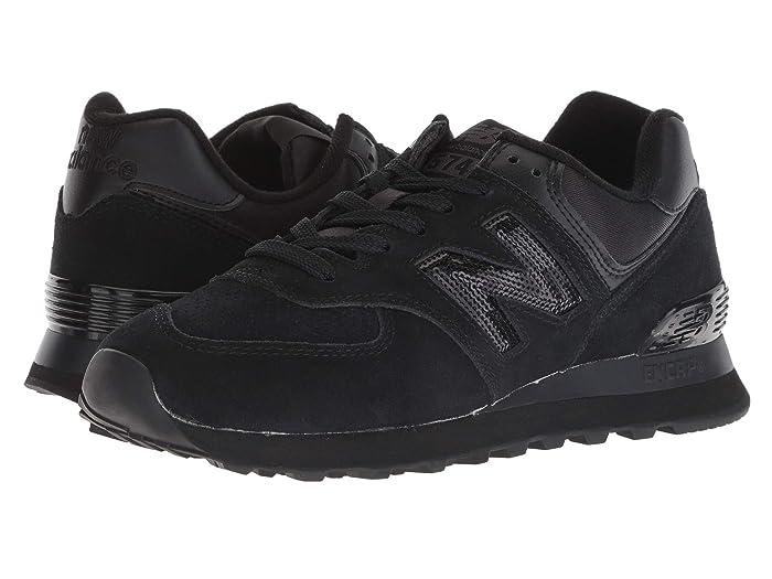 new balance 574 black suiting