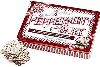 Harry & David Peppermint Bark 24 oz Gift Set Old Fashioned Tin