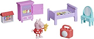 Peppa Pig Peppa's Adventures Bedtime with Peppa Accessory Set Preschool Toy, Peppa Pig Figure and 5 Accessories, for Ages ...