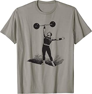 Big Texas Circus Old Time Strongman Weightlifter T-Shirt