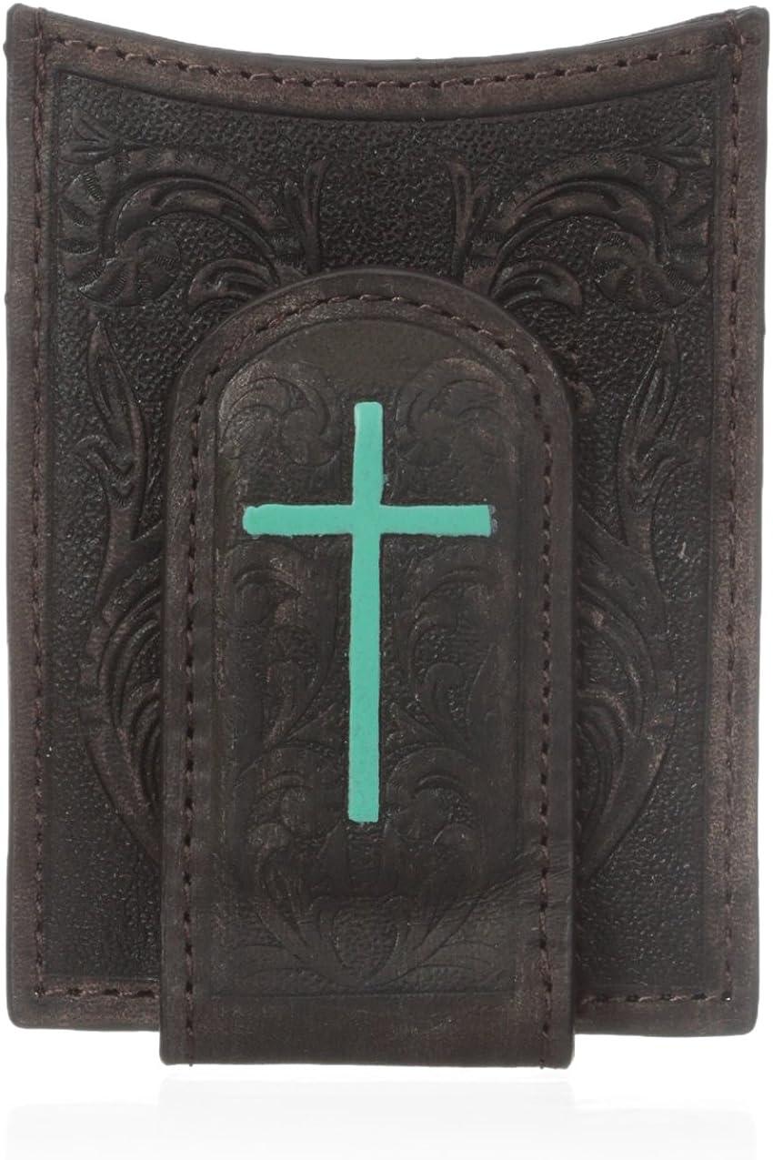 Ariat Men's Painted Cross Money Clip