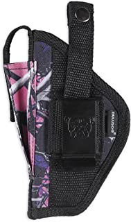 Bulldog Cases Nylon Hip Holster Sizes for Revolver and Semi-Auto  Fits Glock, S&W, Ruger, Springfield, Taurus  