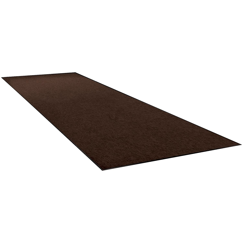 Economy Vinyl Carpet Mats Atlanta Mall Max 81% OFF 3' x 12' Brown 1 Each