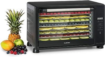 KLARSTEIN Mega Jerky - Déshydrateur automatique, 650W, Boîtier métallique, Température: 50-80 ° C, Ecran LCD tactile, Minu...