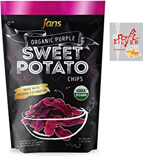 Jans Organic Sweet Potato Chips (Purple, 4.0 oz)