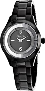 Kenneth Cole New York Women's KC4966 Transparency Analog Display Japanese Quartz Black Watch