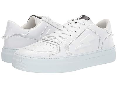 Neil Barrett Pierced Modernist Ultra Sneaker (White) Men