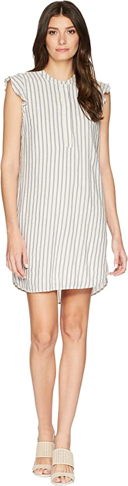 Pirouette Stripe Henley Dress