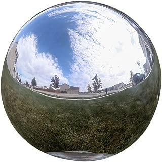 garden gazing ball stainless