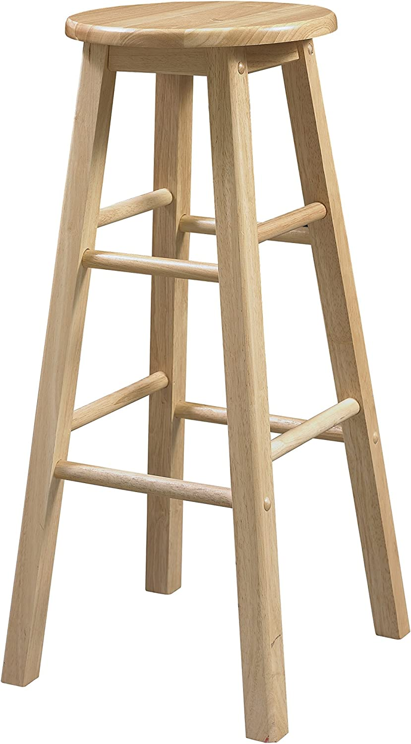 Linon 29-Inch Barstool With Attention brand Round Seat ! Super beauty product restock quality top!