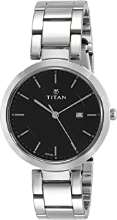 Titan Ladies Neo-Ii Analog Black Dial Women's Watch-NK2480SM08