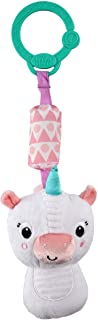 Bright Starts Chime Along Friends On-The-Go Take-Along Toy - Unicorn