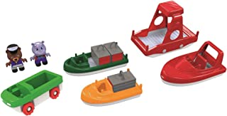 AQUAPLAY 8700000261 Aquaplay Boat Pack with 2 Figures, Multicolor