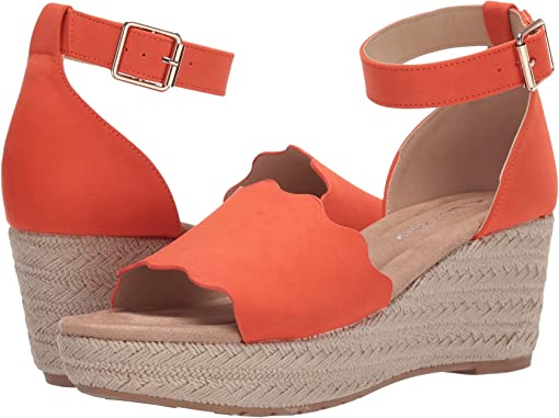 Summer Orange Nubuck