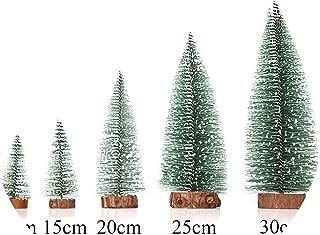 DIY Christmas Tree Five Sizes Small Pine Tree Mini Trees Home Decor Christmas Decoration Kids Gifts