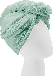 Turbie Twist Microfiber Hair Towel Wrap [Single Pack] – The Original Microfiber Hair Wrap As Seen On TV! Available in Pink, Blue, Purple and Aqua Hair Turban Towel Wraps (Aqua)