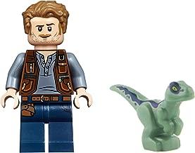LEGO Jurassic World Fallen Kingdom - Owen Grady and Blue from Set 10757